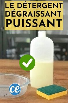 The Easy Recipe for Ultra Degreasing Dishwashing Liquid Create A Board, Dishwashing Liquid, Cleaners Homemade, Black And White Design, Green Life, Clean House, Good To Know, Cleaning Hacks, Cleanse