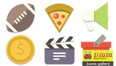 Icon set - Like a Flat - Zizaza item for