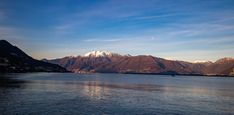 Lake Maggiore view from Magadino in the morning. Lake Mountain, Mountain Range, Switzerland Cantons, Canton Ticino, Image Types, Sea And Ocean, Sky And Clouds, Scenery, Mountains