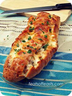 cheesy pull-apart bread 1