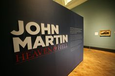 The exhibition we had at the Laing Art Gallery in 2011 - John Martin: Heaven and Hell John Martin, Heaven And Hell, 19th Century, Art Gallery, Graphics, Art Museum, Graphic Design, Printmaking