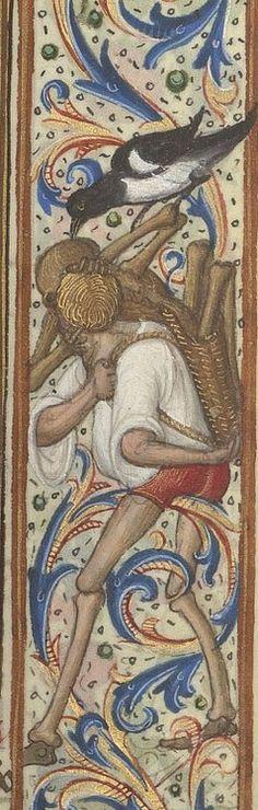 Bibliothèque nationale de France, Département des manuscrits, NAL 302. detail of f. 58r. Heures d'Antoine le Bon, duc de Lorraine. 1533