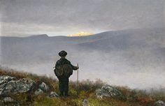 Uke 49: Theodor Kittelsen, Soria Moria slott, 1900. Maleri, tilhører Nasjonalmuseet