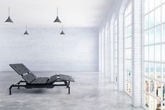 Robust, intuitive, and stunningly designed, the SILVERlite bed frame is the latest major product in the SILVER Series by LOGICDATA, produced in Styria. Innovative Packaging, Adjustable Base, Dark Smoke, One Bed, Modular Design, Creative Industries, Bed Frame, Sun Lounger, Minimalism