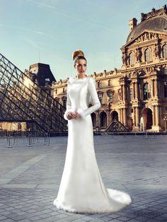 Robe de mariée Louvre par Pronuptia collection 2017