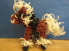 How to make a saddle for your rainbow loom horse or pony by Lovely Lovebird Designs. Copyright 2014.