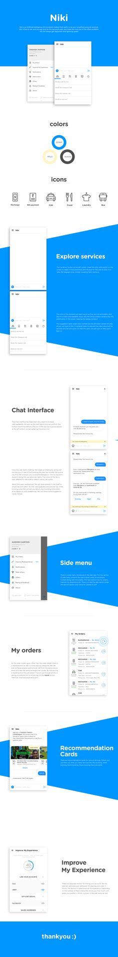 Niki App UIUX on Behance