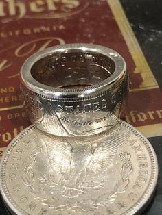 Silver Coin Ring Punch Out 90/% US Proof Half Dollar Coin 10 ounce Junk Scrap Bar