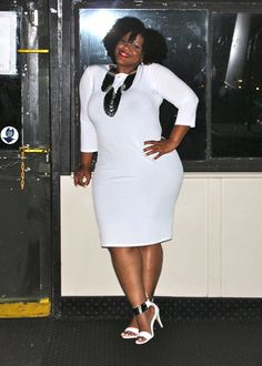 NATURALLY FASHIONABLE: Full Figured Fashion Week Outfits Recap