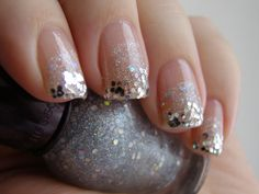 Sparkly tips!