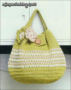 Mimo Crochet: Bag