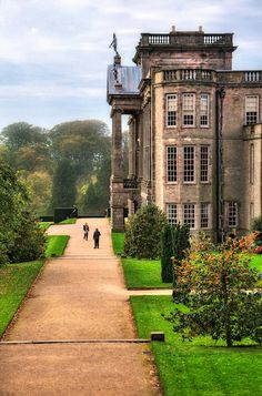 Lyme Park, Cheshire, dates from the latter part of the 16th century