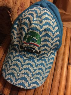 d9ce7b9ed77 Dubai Duty Free AKaru Baseball cap Aqua Adjustable Embroidered Adult size  NWT  Akara  BaseballCap