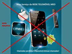 Hoje atingi o limite da paciência! Já não é a primeira vez que acontece! Minha Estrada: MEO – Rede Telemóvel Não Presta http://blogdoestevao.blogspot.pt/2014/10/meo-rede-telemovel-nao-presta.html