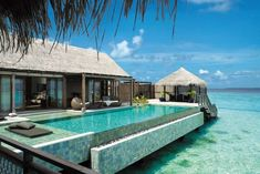 Luxury hotels and resorts spanning key locations around the world. Shangri-La Hotels and Resorts offer exuberant service, a range of amenities, and stylish interiors which present an unforgettable experience. Unique Hotels, Beautiful Hotels, Beautiful Places, Amazing Places, Beautiful Scenery, Beautiful Pictures, Maldives Resort, Resort Spa, Male Maldives
