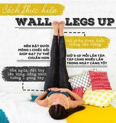 Tin Sức Khỏe Gác chân lên tường 10 phút mỗi ngày để xả stress