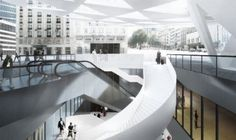 Architectura - Xavier De Geyter Architects' nieuwe Rogierplein / BOYDENS