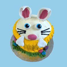 Easter Bunny Giant Cupcake