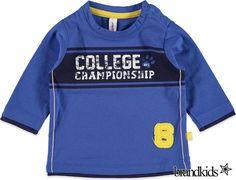 Babyface Longsleeve voor jongens blauw - Jongens T-shirts lange mouw €13,95