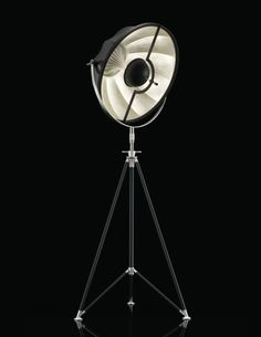 Fortuny floor lamp Studio silver leaf lining the reflector. Granada, Fortuny Lamp, Luxury Flooring, Luxury Lighting, Bedroom Lamps, Lamp Light, Lights, Floor Lamps, Black Silver