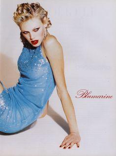 Shirley Mallmann by Ellen von Unwerth for Blumarine Fall/Winter 1996/1997