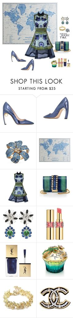 Givenchy Fall 2011 by deborah-518 on Polyvore featuring Givenchy, Nicholas Kirkwood, GEDEBE, Chanel, Miu Miu, Gucci, Yves Saint Laurent, House of Sillage and Pier 1 Imports