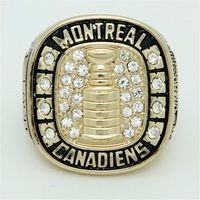 Bottom Price for 1945 Replica Ice Hockey Montreal Canadiens Championship Ring for Fans