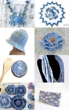 Got the blues.... by ROSE on Etsy--Pinned with TreasuryPin.com