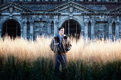 Michigan Central Station senior pics