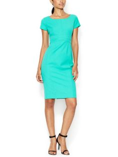 Cotton Boatneck Sheath by Narciso Rodriguez at Gilt