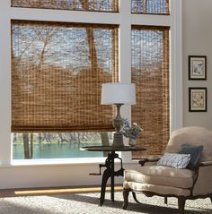 Bamboo Blinds in Hatteras Camel on SimpleStylings Home