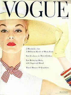Jean Patchett - Vogue May 1954 by Blumenfeld