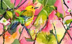 Yellow Warbler -- Kay Smith