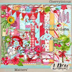 Digital Scrapbooking | digital scrapbooking freebies Cherrylicious and BIG Birthday BASH at ...