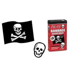 Pirate Bandage - Band-aids para Piratas