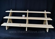 21 best collapsible and portable display shelves for craft and trade rh pinterest com
