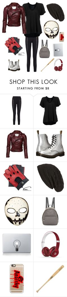 """""""Layla Manch"""" by karabear3256 ❤ liked on Polyvore featuring Free People, Dr. Martens, Cara, STELLA McCARTNEY, Vinyl Revolution, Beats by Dr. Dre, Casetify and Louisville Slugger"""