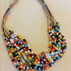 Beaded Necklace For Fall