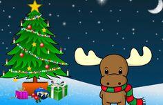 Tarjeta de Navidad Reno Ternura Las mejores invitaciones para que regales en Navidad #tarjetas #navidad #christmas #greetings #card