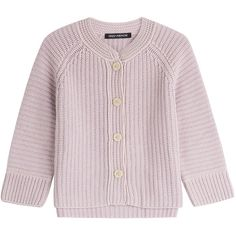 Iris von Arnim Textured Cashmere Cardigan (€915) ❤ liked on Polyvore featuring tops, cardigans, rose, pink top, cashmere tops, pink cardigan, pink cashmere cardigan and rose cardigan
