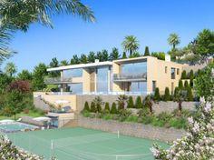 Contemporary Villa - From Gardens