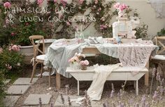 Shabby Chic Couture Rachel Ashwell | Check out her redesigned website - it's awesome - very pretty however, perhaps more e-commerce functionality.