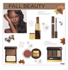 """""""Fall Beauty"""" by marion-fashionista-diva-miller ❤ liked on Polyvore featuring beauty, Tom Ford, Bobbi Brown Cosmetics, beautyset and fallbeauty"""
