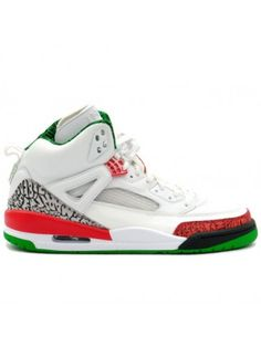 78b478fa96b 315371 161 Air Jordan Spizike White   Red   Green Air Jordan Shoes