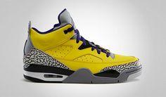 Mens Air Jordan Retro 3.5 AJ3.5 Basketball Shoe Black Yellow 40-47|only US$82.00 - follow me to pick up couopons.