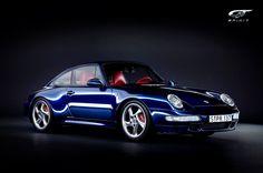 Porsche 993 - Blue