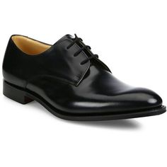 Church's Men's Oslo Leather Derby Dress Shoes - Black : Church's Shoes (9 110 ZAR) ❤ liked on Polyvore featuring men's fashion, men's shoes, men's dress shoes, shoes, men, apparel & accessories, black, mens derby shoes, mens lace up shoes and mens black derby shoes