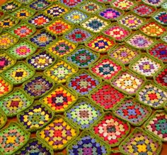 Check out this item in my Etsy shop https://www.etsy.com/uk/listing/62994471/granny-squares-crochet-afghan-blanket