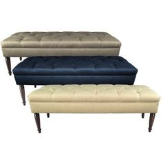 Shop for MJL Furniture Claudia Diamond Tuft Dawson7 Upholstered Long Bench. Get free shipping at Overstock.com - Your Online Furniture Outlet Store! Get 5% in rewards with Club O!