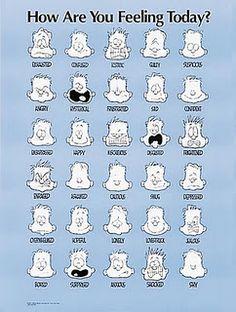 feeling chart pdf ʕ´・ᴗ・`ʔ READ Feelings Chart with Faces | to use a feelings chart ...
